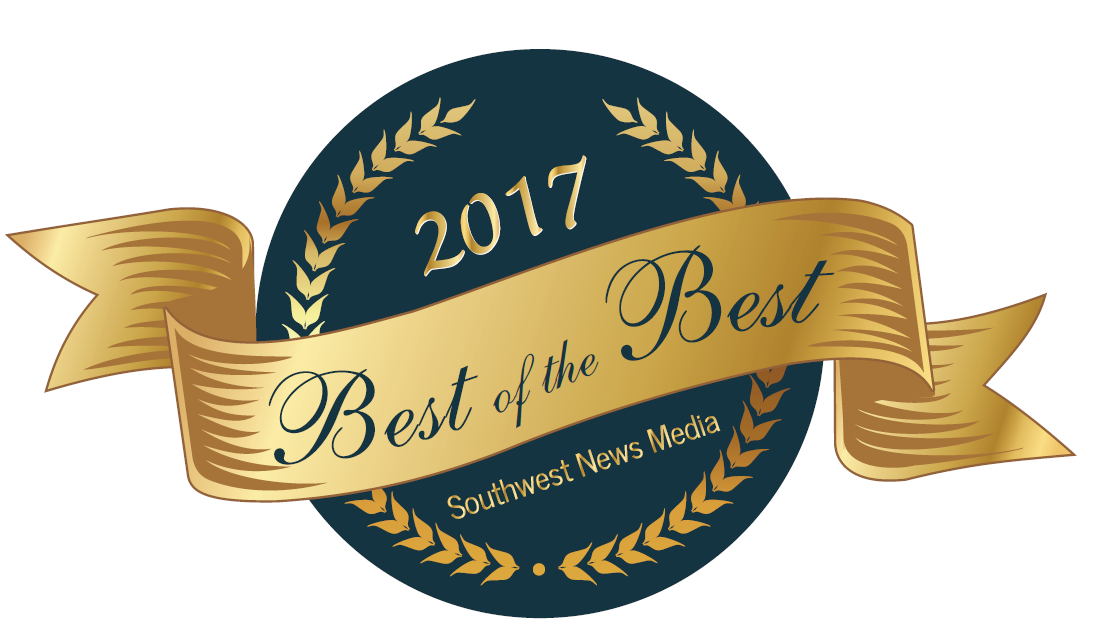 2017 Best of the Best Southwest News Media badge