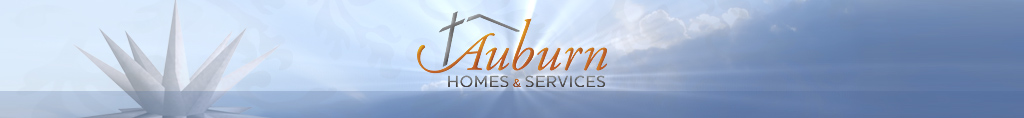 Auburn Homes & Services. Serving Seniors in the Spirit of Christ's Love