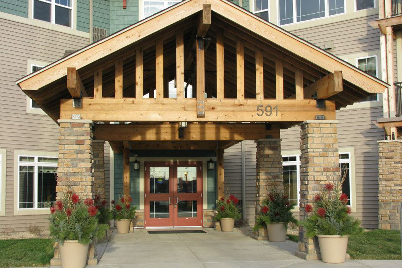 Auburn Meadows assisted living exterior